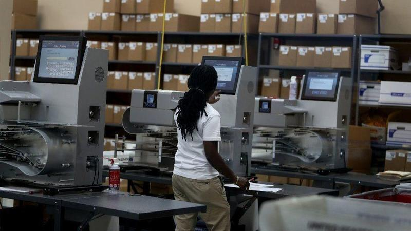 Broward elections officials are still counting votes from Tuesday's midterm election.