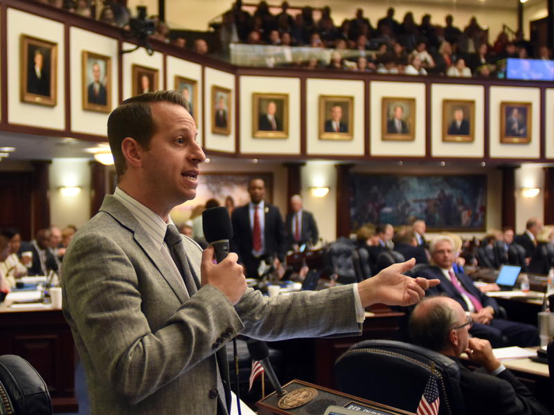 Rep. Jared Moskowitz is being considered for a position in Ron DeSantis' administration.