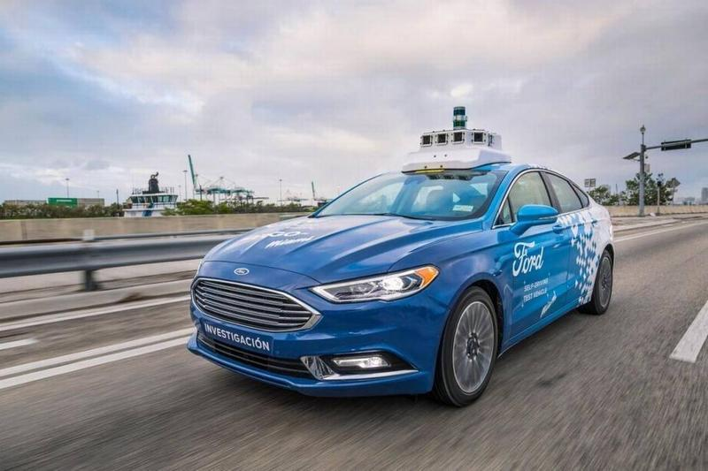 Ford will be testing self-driving cars in Miami-Dade County.