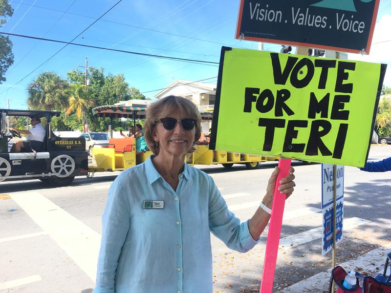 Teri Johnston was overwhelmingly elected mayor of Key West Tuesday.