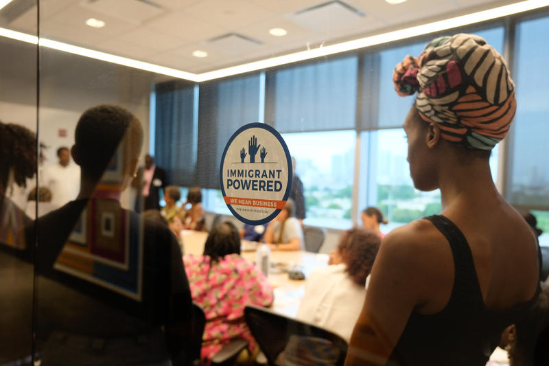 """""""Immigrant Powered"""" is a new campaign to spotlight the impact of immgrants to South Florida's economy."""