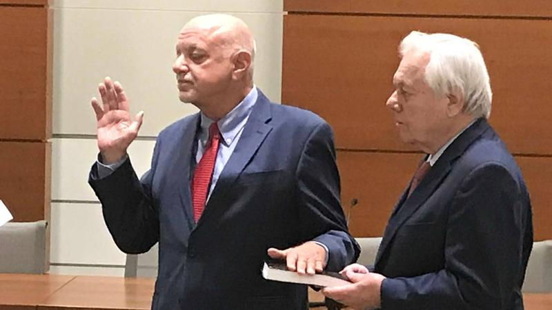 Pete Antonacci was sworn as Broward's Elections Supervisor on Thursday.