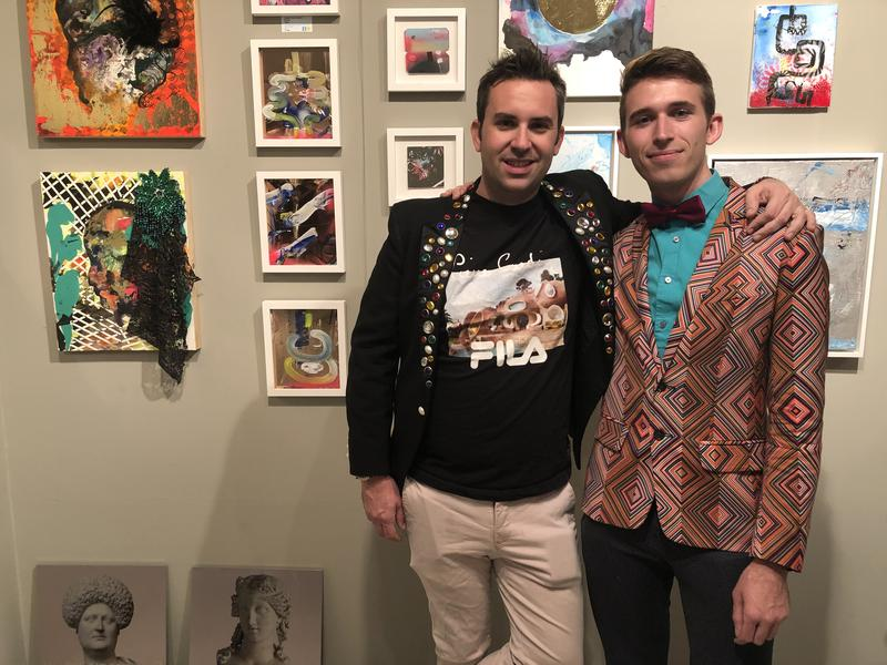 Alex Mitow (left) and James Miille (right) are the co-founders of Superfine!