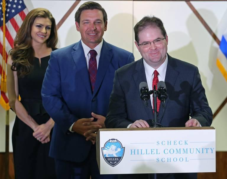 This week, Gov. Ron DeSantis appointed Judge Robert Luck to the Florida Supreme Court. It was one of several announcements DeSantis made in South Florida during his first week and a half in office.