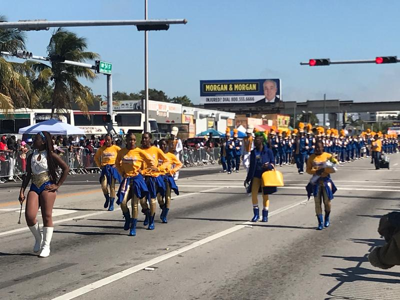Thousands of people attended the annual Dr. Martin Luther King Jr. Day parade in Liberty City on Monday.