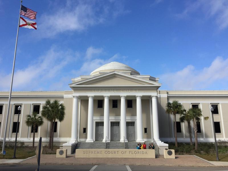 A photo of the Florida Supreme Court.