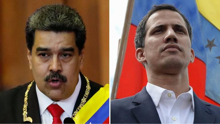 Two leaders President Nicolás Maduro and Juan Guaidó, leader of the National Assembly, are shaking up the country's political system, which has been marred by a longtime economic crisis.
