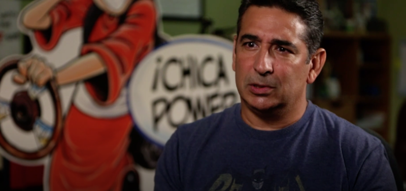 Inside The Mind of a Comic Creator features Carlos Castellanos, illustrator and co-creator of the comic strip Baldo, the first nationally syndicated strip to feature a Latino family.