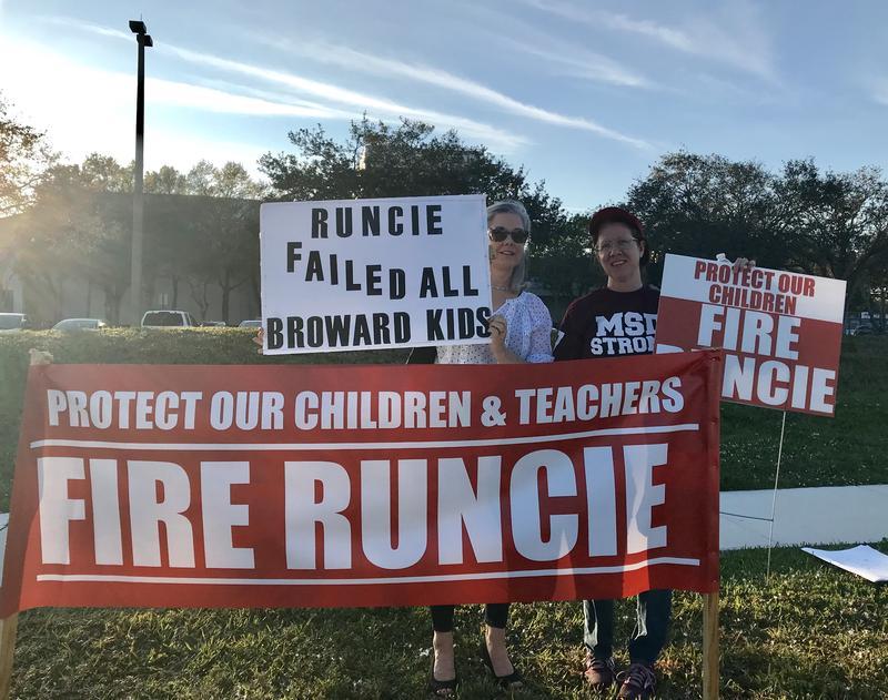 Robert Runcie Protest