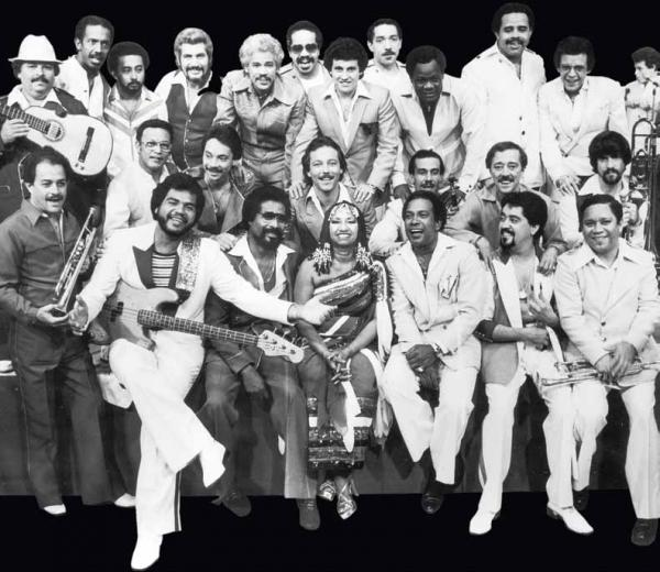 The musicians of Fania Records include Celia Cruz, Hector Lavoe, Ruben Blades and Ismael Miranda.