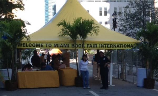The Miami Book Fair International plays host to all genres and a multitude of panel discussions, like the Mystery Writers of America.