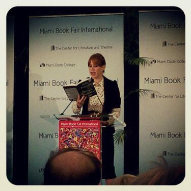 Molly Ringwald reads from her new book