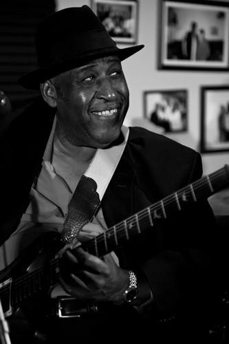 Joey Gilmore at Jazz and a Little Bit of Blues event at Jackson Soul Food.