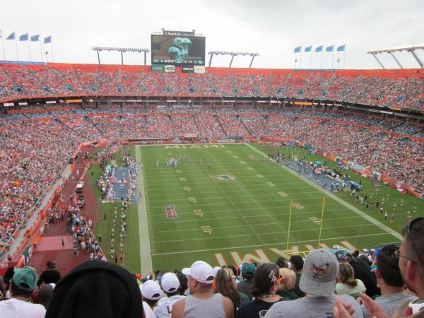 NEEDS WORK: Dolphins owner Stephen Ross wants a partial roof and reconfigured seating at Sun Life Stadium and he wants taxpayers to fund some of the renovations.