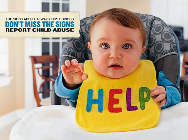 Florida has launched a campaign to help people identify signs of child abuse.