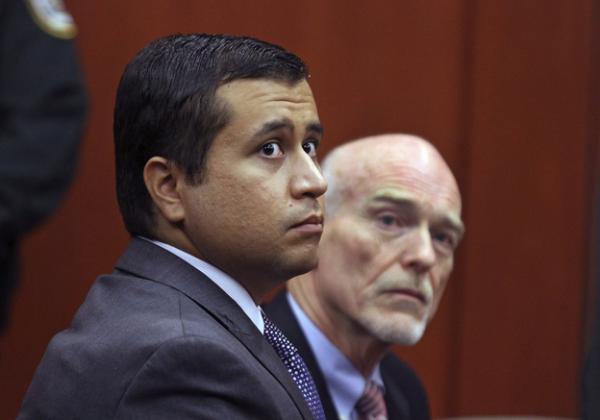 STOOD HIS GROUND: George Zimmerman, shown here in court, is the defendant in the Trayvon Martin shooting which became a flashpoint for 'stand your ground' laws around the country.