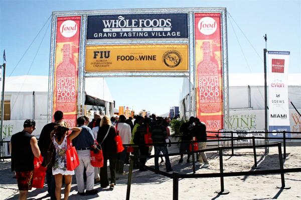 Stock photo of 2010 South Beach Wine & Food Festival