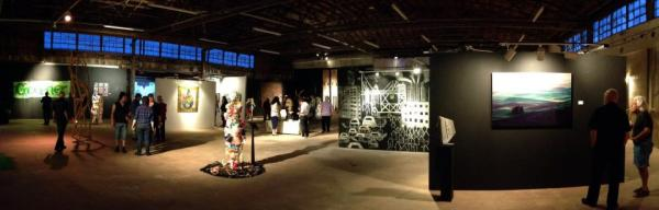 Galleries now occupy former warehouses north of downtown Fort Lauderdale.