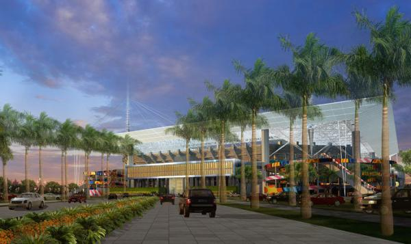 Proposed upgrades to SunLife stadium would have included new concourse entrances.