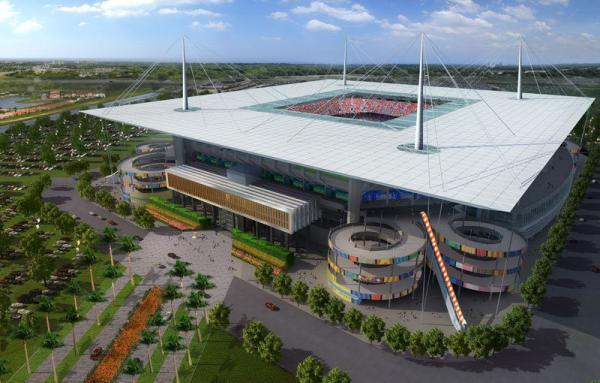 The renovations to SunLife stadium would have added a partial roof, along with other upgrades.