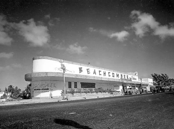 The Beachcomber Club in Miami Beach, 1947