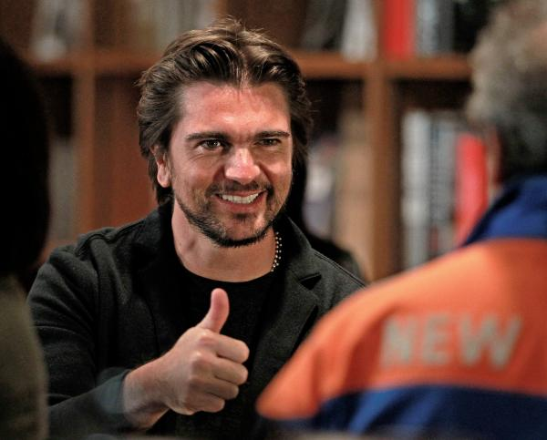 "Juanes at Books & Books in Coral Gables for a signing of his memoir ""Chasing the Sun."""