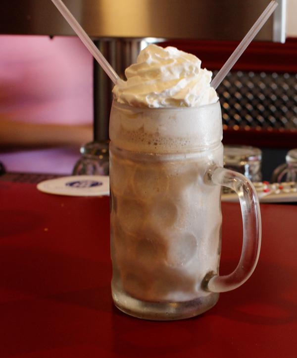 beer milkshake made with Nutella ice cream and Wells Banana Bread beer ...