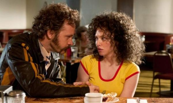Actors Peter Sarsgaard and Amanda Seyfried in the film Lovelace.
