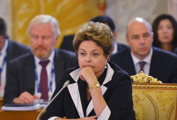 Brazilian President Dilma Rousseff attends a recent meeting of the G-20 in St. Petersburg, Russia