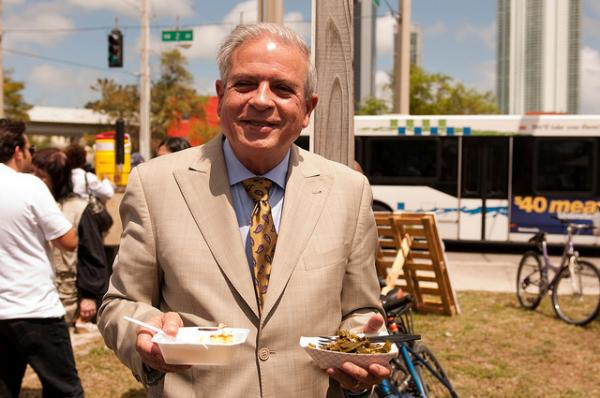 Miami residents will be voting in a mayoral election on November 5, and it looks like Mayor Tomas Regalado will skate to an easy win. Except for three unknown challengers, the popular Regalado will be alone on the ballot.