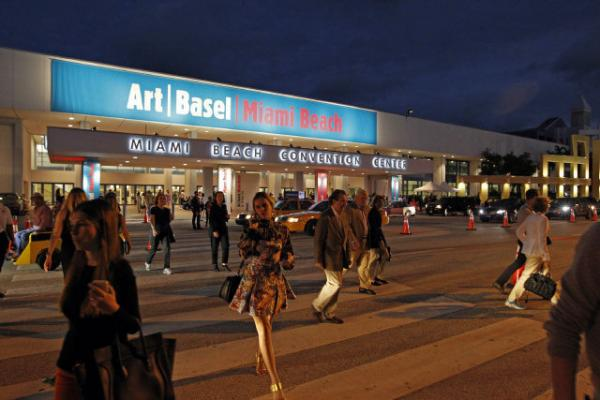 Art Basel at the Miami Beach Convention Center.