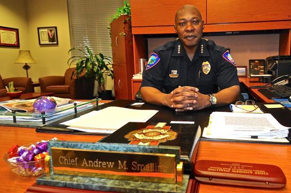 Lauderhill Police Chief Andrew Smalling