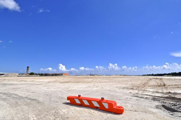 This is the western edge of what is scheduled to be the south runway at Ft. Lauderdale-Hollywood Int'l Airport. Paving is due to begin this month.