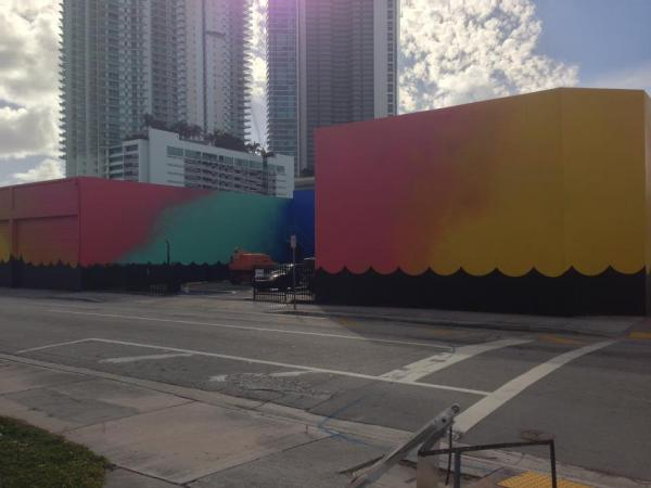 The Dimensions Variable building in Downtown Miami.