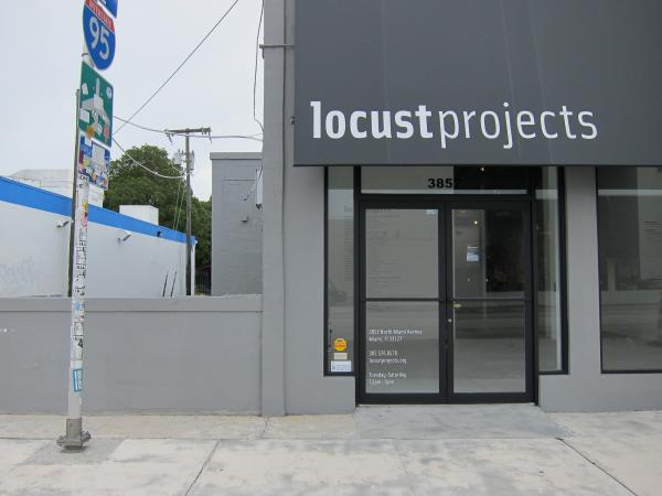 The exhibition and project space for Locust Projects in Miami's Design District.