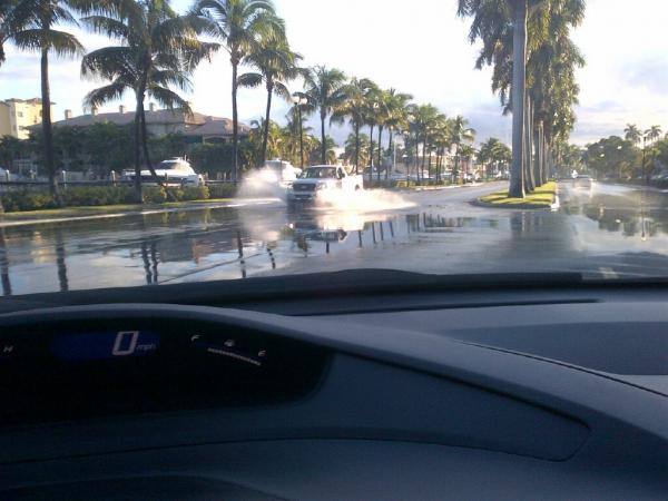 Flooding in Fort Lauderdale.