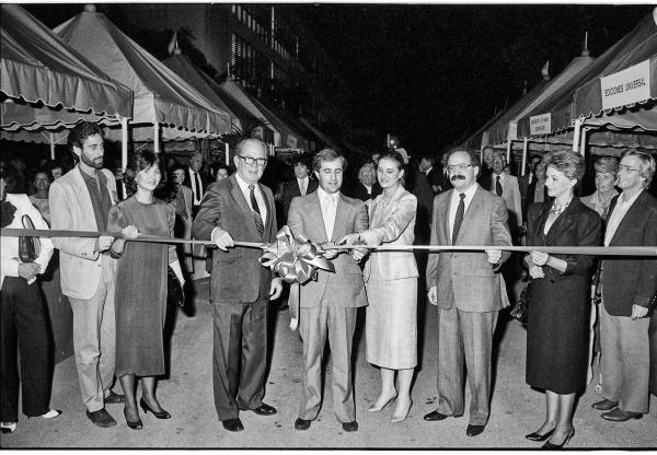 Mitchell Kaplan's Miami Book Fair International was founded in 1984.
