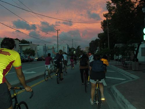 Critical Mass takes places on the last Friday of every month all over the world.