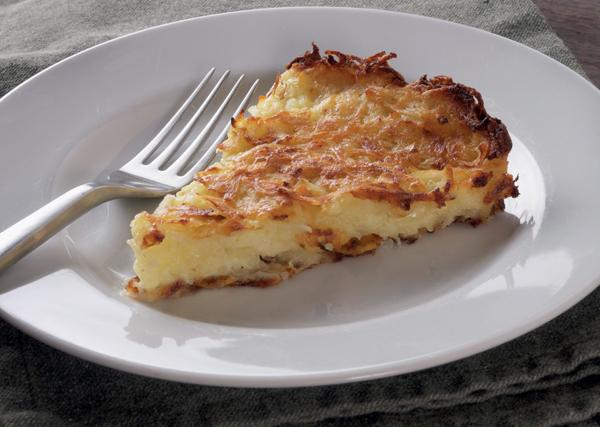 Potato kugel from The Book of Schmaltz: Love Song to a Forgotten Fat