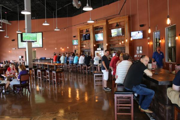 Funky Buddha, a brewery and taproom, is part of the new Oakland Park Culinary-Arts District.
