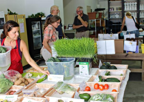 Currently, the Urban Market in Oakland Park sells locally grown produce wheatgrass, avocados and greens, as well as organic produce from other states.