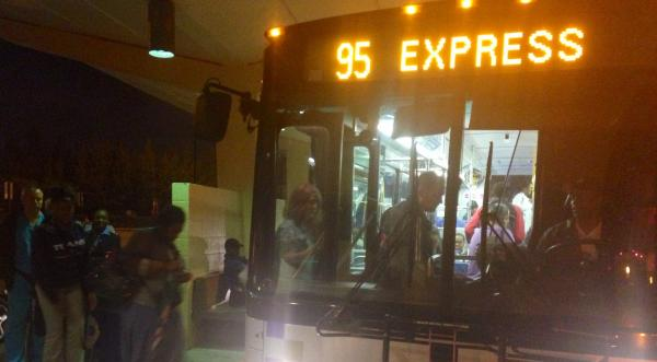 Ridership on 95 Express buses from Golden Glades has increased about 50 percent in the last few years.