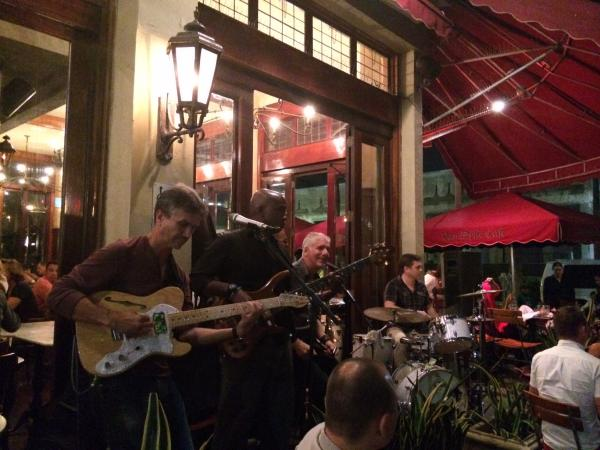 The band Oriente at the Van Dyke Sunday night
