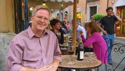 Rick Steves in Italy