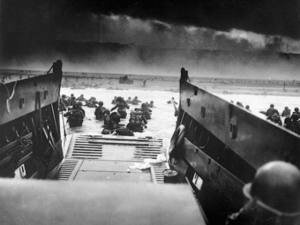 D-Day: Storming the beach on June 6, 1944