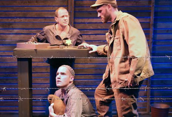 Island City Stage's 'The Timekeepers' won a half-dozen Carbonell Awards, including best production of a play and best actor for Michael McKeever (standing behind table).