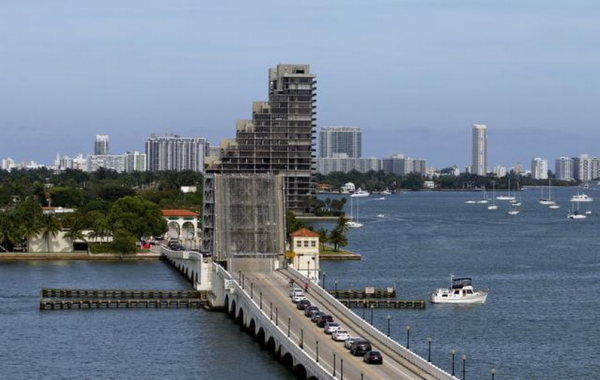 The westernmost section of the historic Venetian Causeway is proving the most problematic.