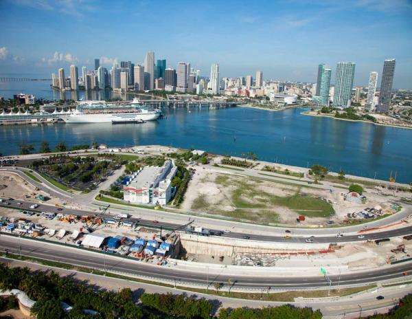 PortMiami Tunnel is officially complete as of Monday, May 19th.