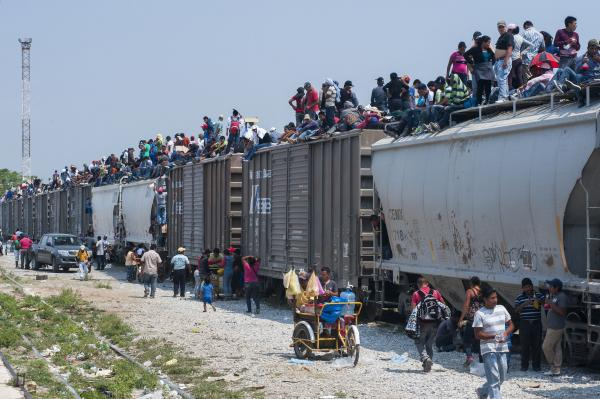 The Beast carries half a million immigrants from Central America to the U.S. border each year.
