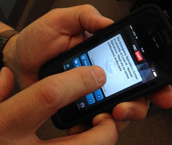 PBC DART is Palm Beach County's new smartphone app for hurricane season.